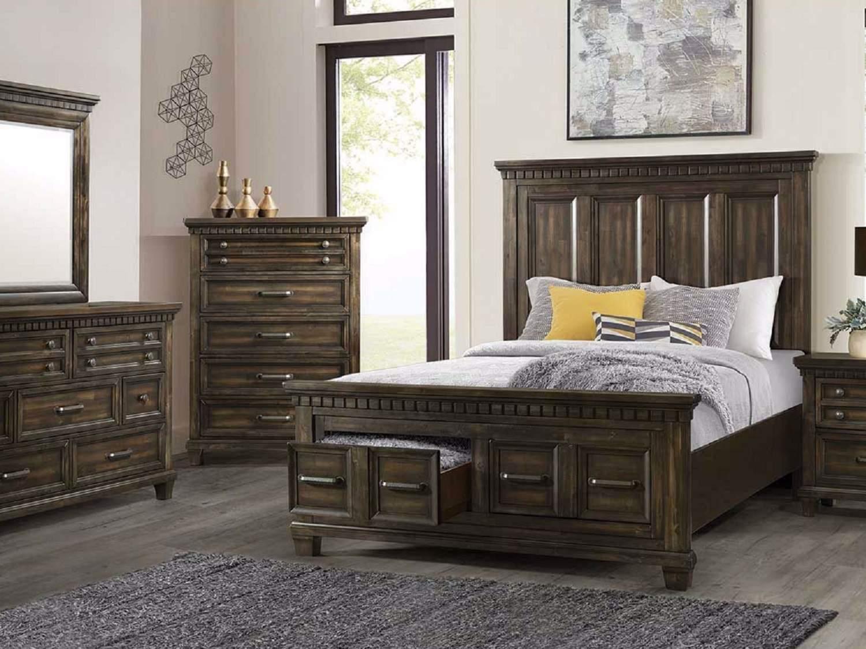 GRIFFEN Bed Set with Storage