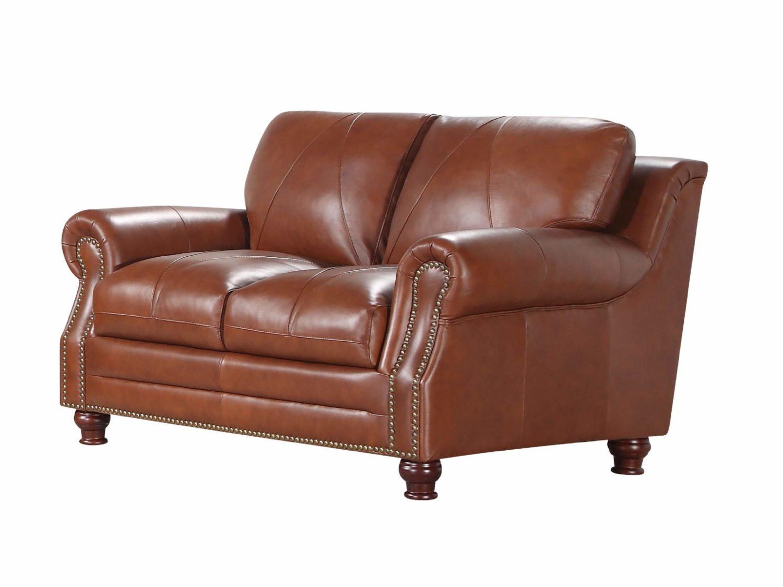 BENNETT Leather Love-seat