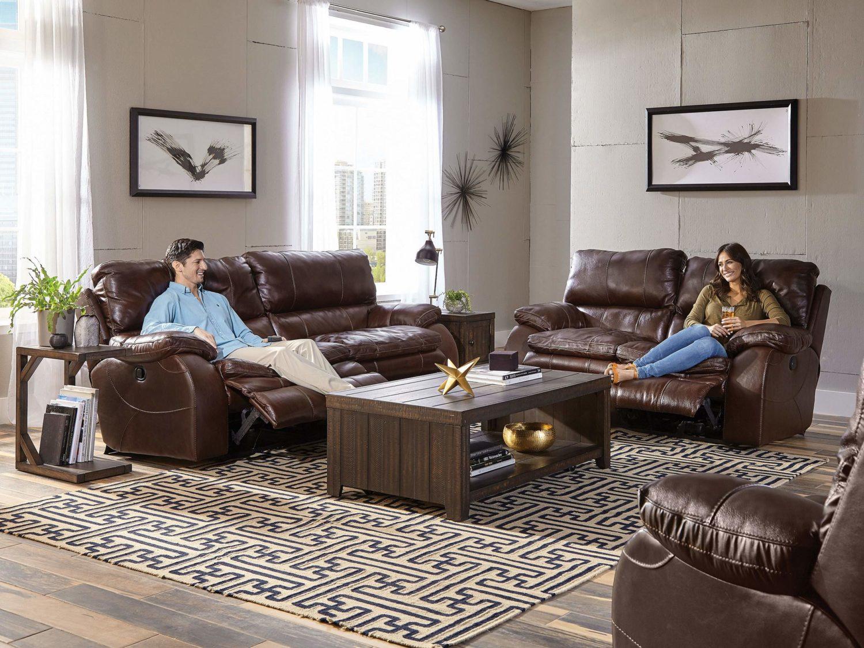 HOLLIS Reclining Sofa & Love-Seat - Open