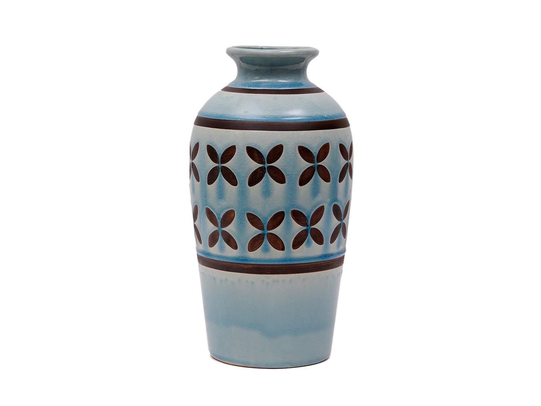 Aztec Ceramic Vase, 12 in.