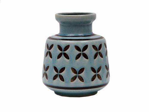 Aztec Ceramic Vase, 8 in.