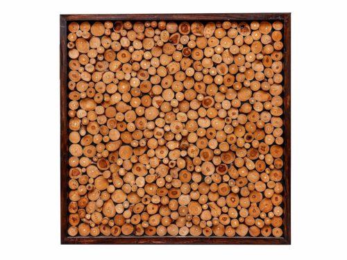 Teak Wood Wall Art