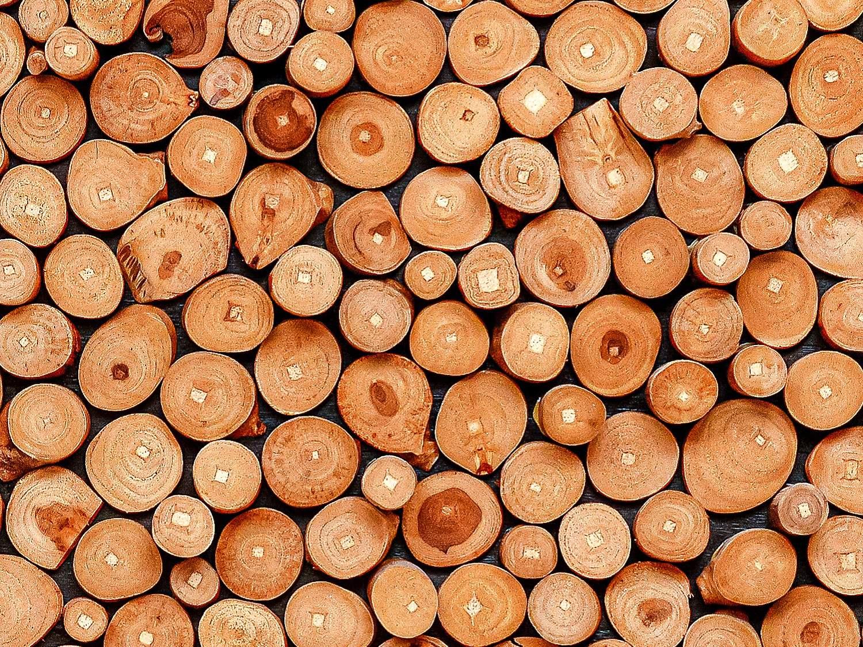 Teak Wood Wall Panel - Zoom