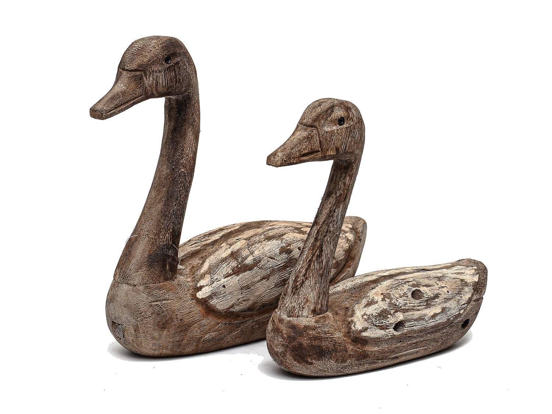 Wooden Ducks - Set of 2