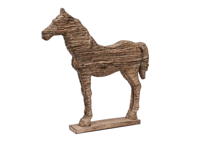 Wooden Horse Sculpture
