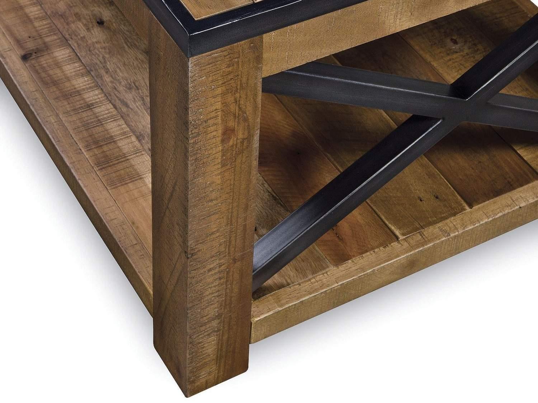 BENSON Lift-Top Coffee Table - Zoom