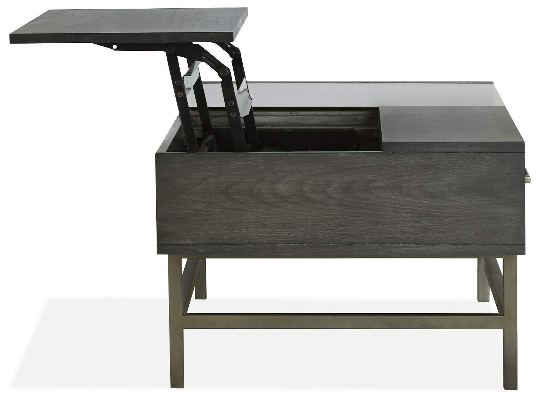 VELVA Lift-Top Coffee Table - Side