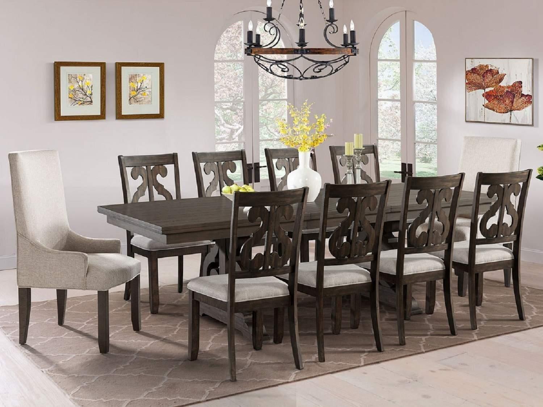 BRIER 10-Seat Dining Set