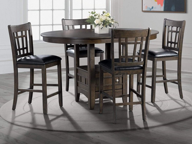 DEGRASSE 4-Seat Dining Set