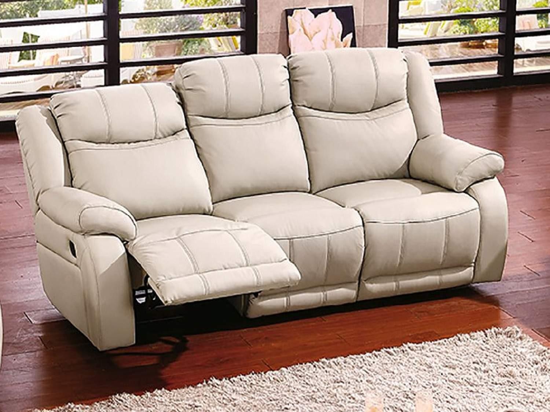 MALONE Leather Reclining Sofa
