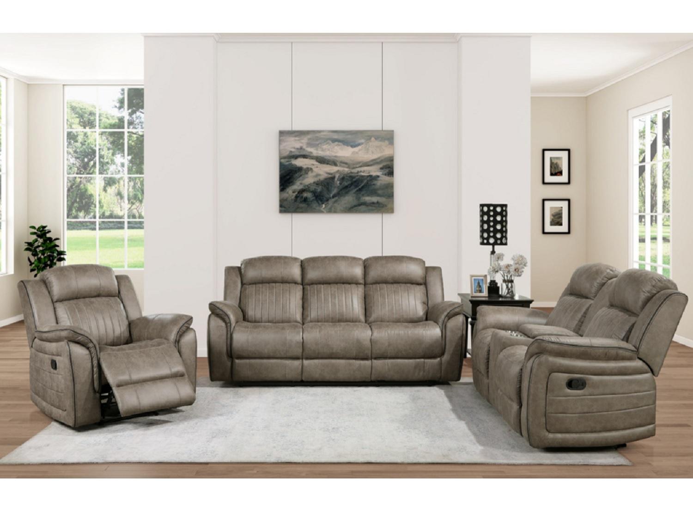 FERNLY Reclining Sofa Set
