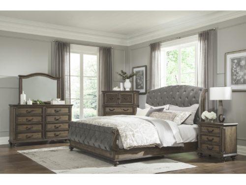 LAMOILLE King Bed Set