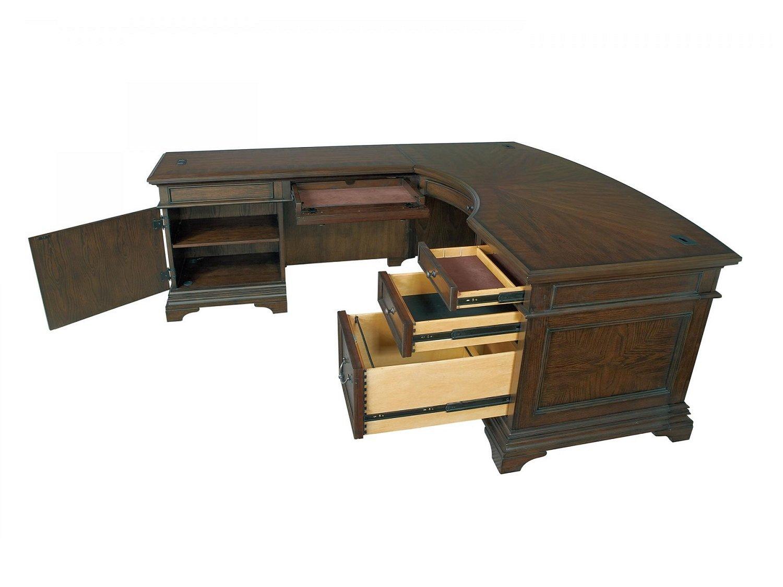 AMERICUS L-Shaped Desk - Open