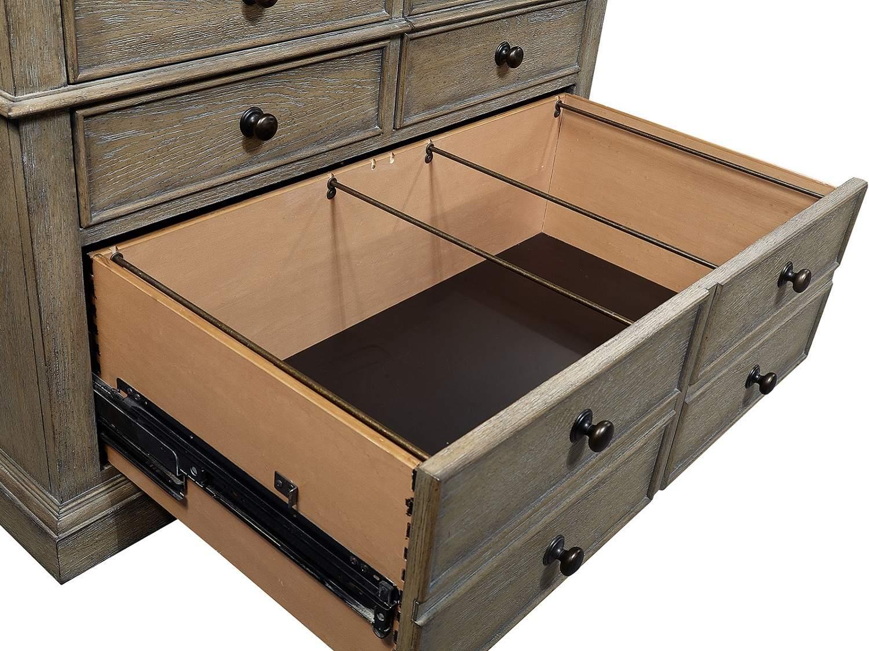 AUSTELL Combo File - Bottom Drawers Open