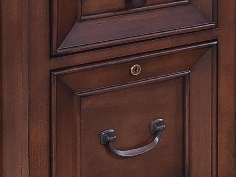 CLINTON L-Shaped Desk - Drawers Zoom