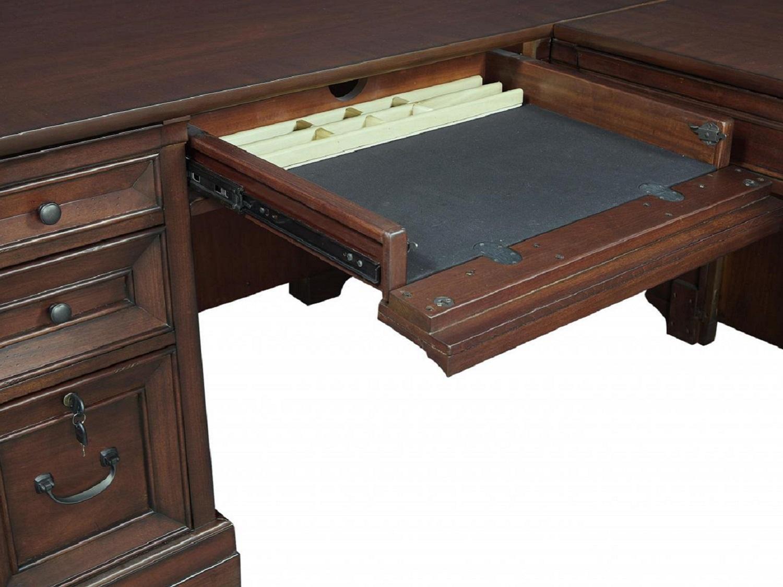 CLINTON L-Shaped Desk - Keyboard