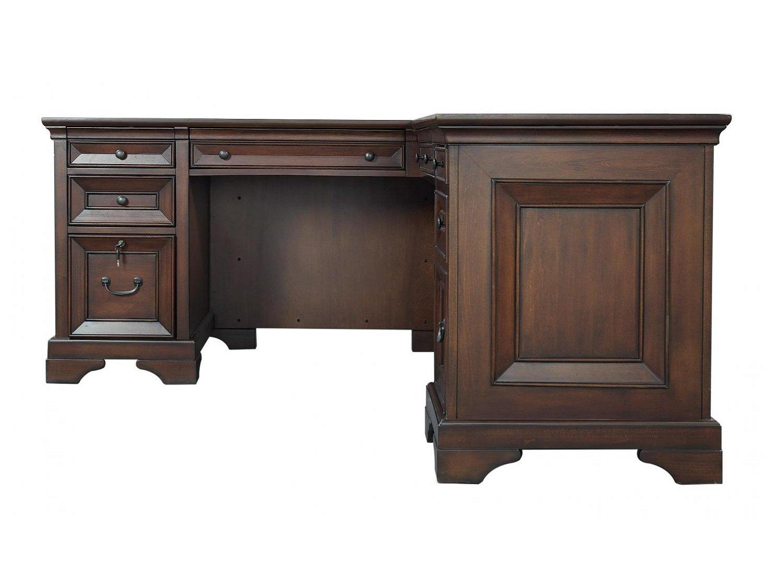 CLINTON L-Shaped Desk - Zoom