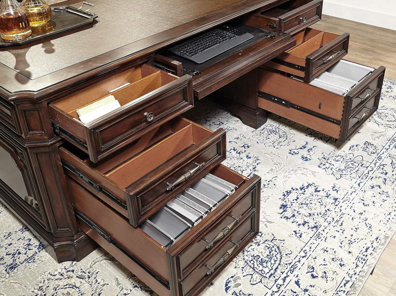 DAVISTON Desk - Drawers Open
