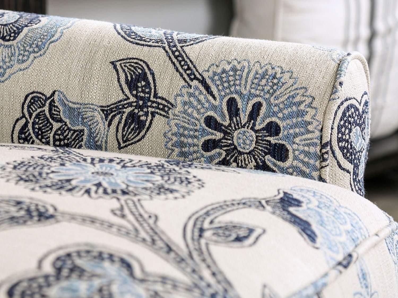 ELMORE Floral Accent Chair - Arm