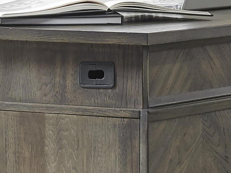 SENECA Executive Desk - Corner Zoom