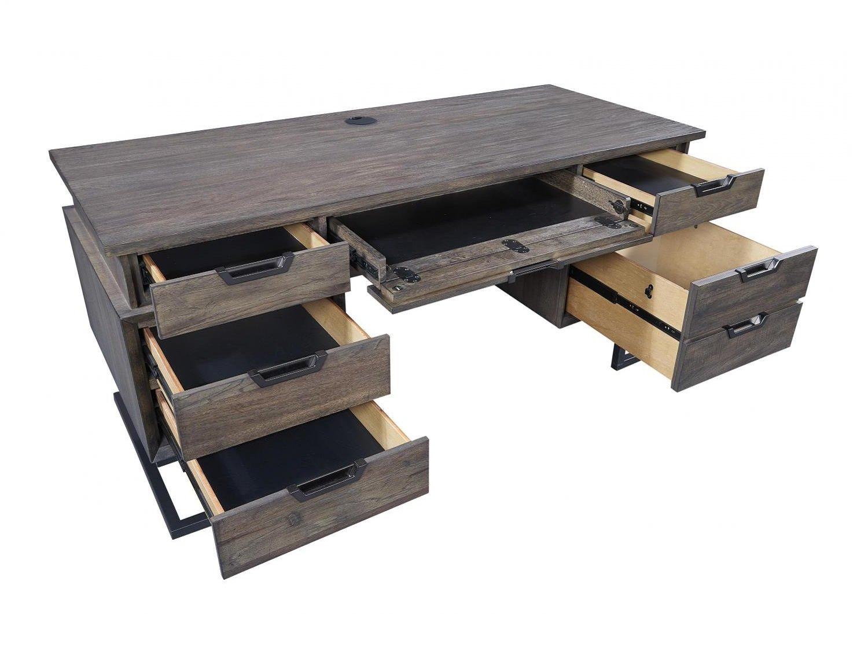 SENECA Executive Desk - Drawers Open