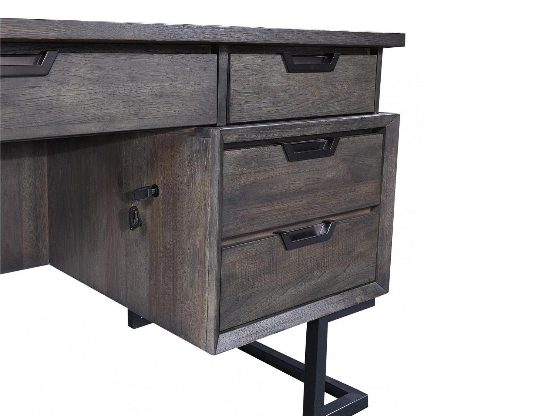 SENECA Executive Desk - Side Zoom