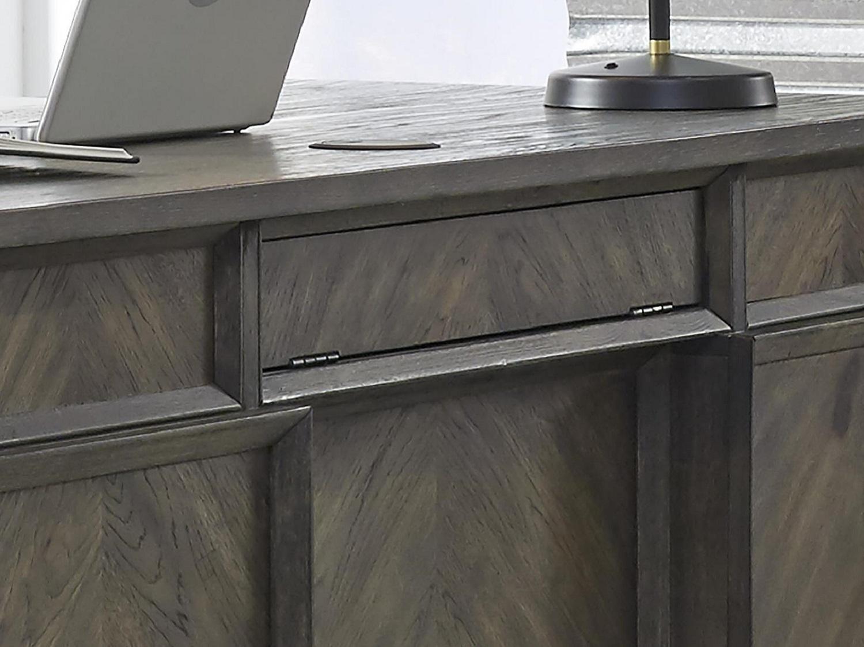 SENECA Executive Desk - Top Zoom