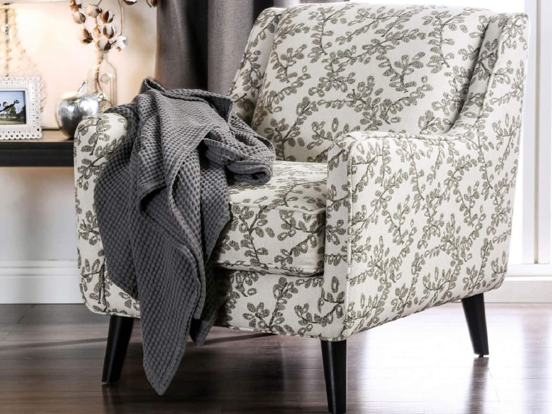 SHEVLIN Floral Accent Chair