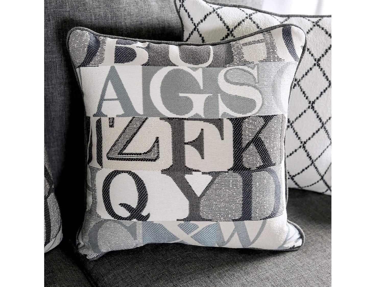 TRIPOLI Sofa Set - Letter Cushion