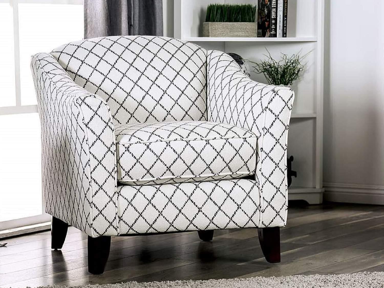 TRIPOLI Square Accent Chair