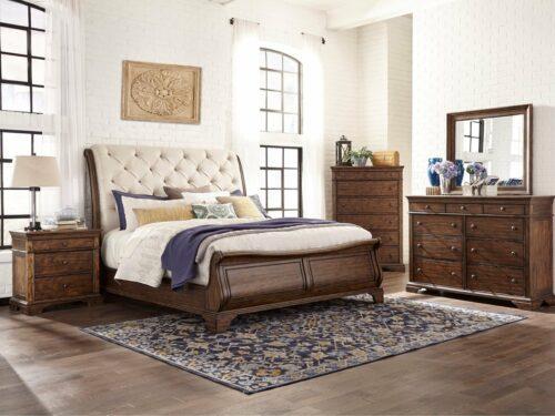 BERYL King Bed Set