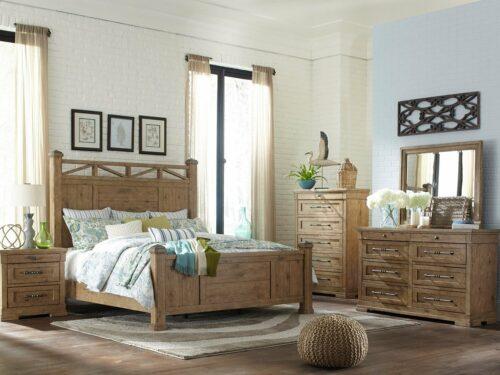 CARLIN King Bed Set