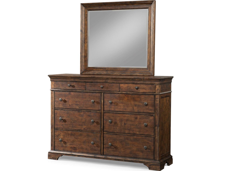 SALINA Dresser & Mirror