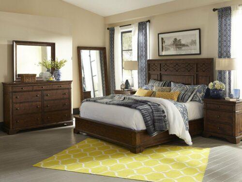 SALINA King Bed Set